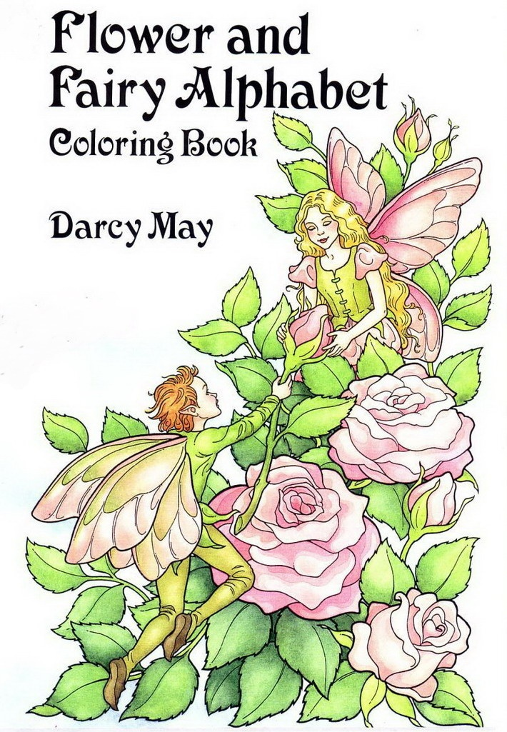 Mallow Flower Fairy Flower And Fairy Alphabet