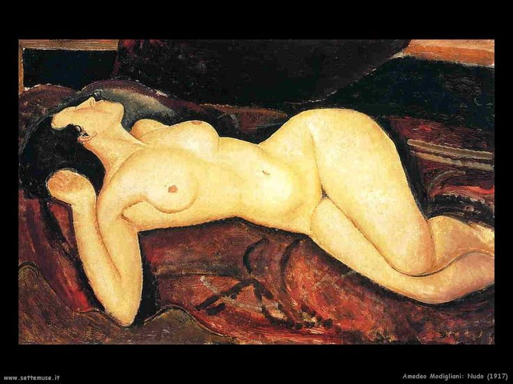 modigliani. Makes me feel better about the size of my thighs...