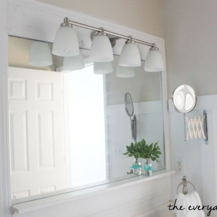 Master Bathroom Makeover On A Budget From Blah To Urban Cottage