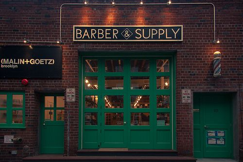 Barber Williamsburg : Barber & Supply Storefront Jan 12th, 2013 ? brooklyn, storefront ...