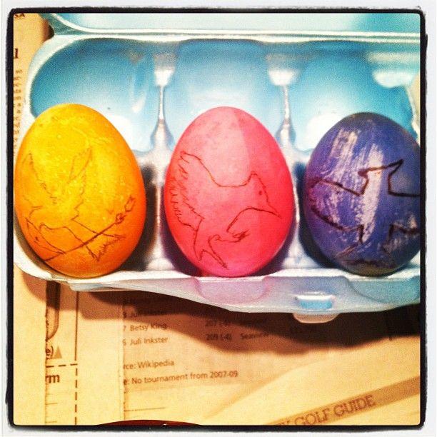 Hunger Games Easter eggs!