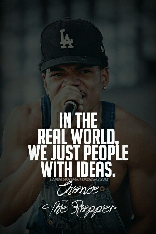 Quotes About Love By Rappers : Chance The Rapper Chance The Rapper (Chancelor Bennett) Pinterest