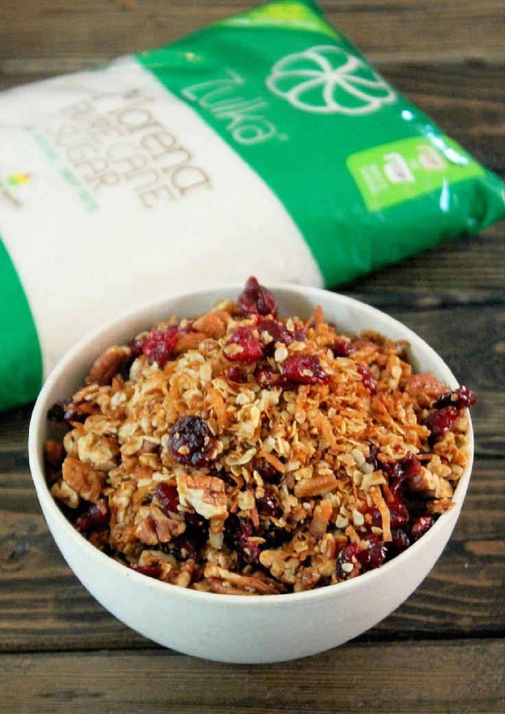 Pecan Coconut Granola | Recipes-Breakfast, Brunch & Pastries | Pinter ...