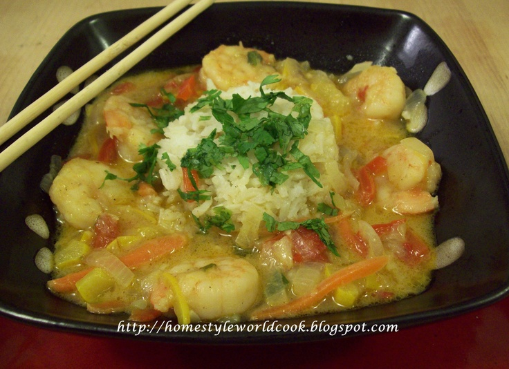 Thai Shrimp Curry: Quick and easy Thai dish to savor at home