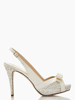 THE SHOES I WANT FOR MY WEDDING!! Kate Spade Grano heels, ivory