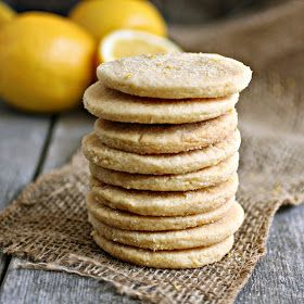 Hungry Couple Lemon Cornmeal Shortbread Cookies
