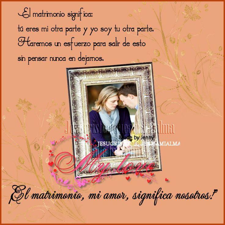 Matrimonio Q Significa : El matrimonio significa pinterest