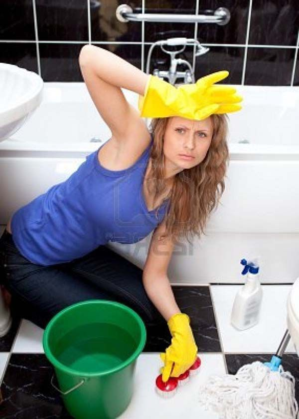 how to clean your house spotless fast