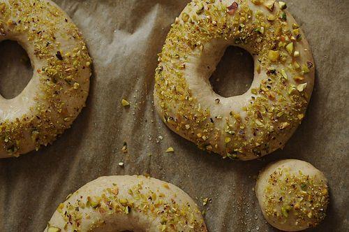 Cardamom Doughnuts   53 Amazing Pistachio Desserts http://food52.com ...