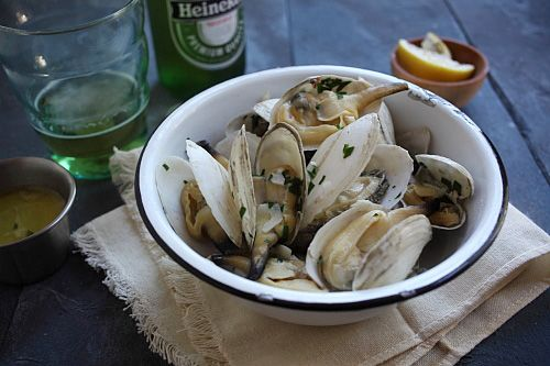 Soft Shell Clams (Steamers) with Garlic Butter - I absolutely LOVE ...