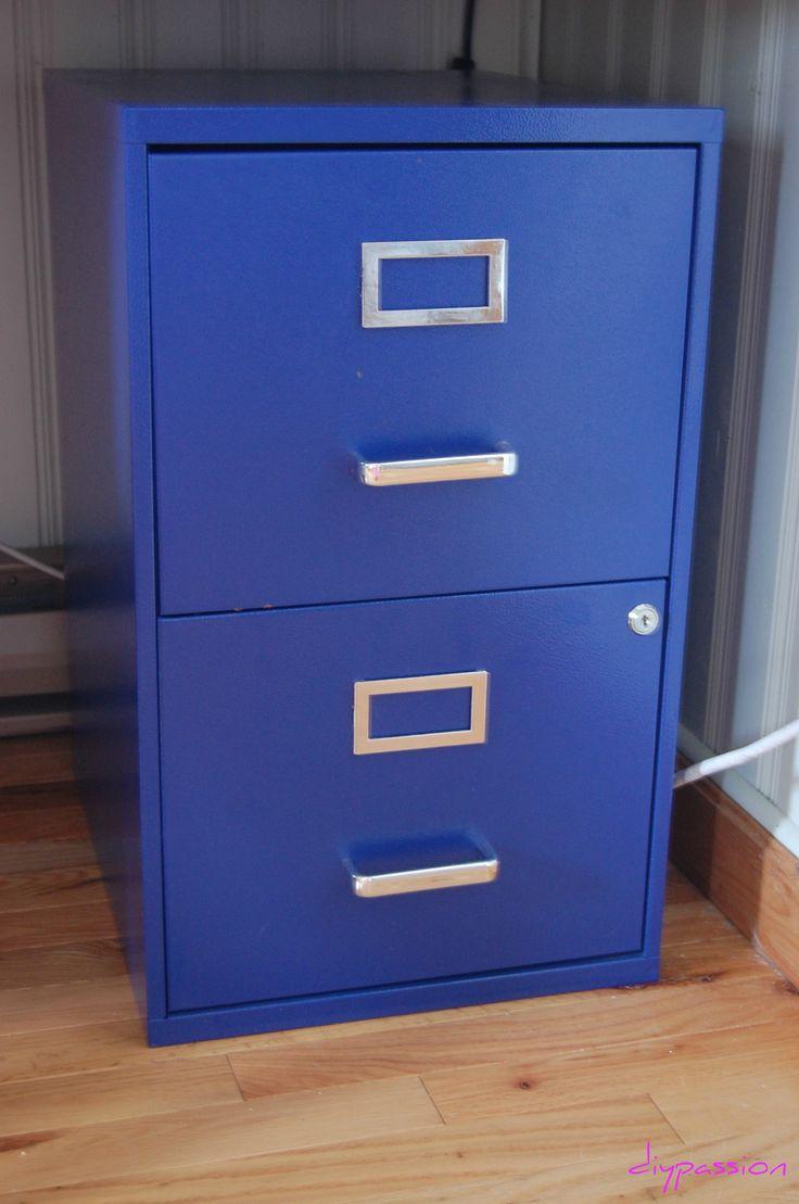 spray painted filing cabinet teaching pinterest. Black Bedroom Furniture Sets. Home Design Ideas