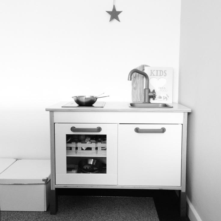 Ikea childrens kitchen set paint it ikea re done for Kitchen set pinterest