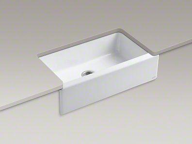 Kohler Apron Front Sink : Kohler Dickinson Apron Front Sink Kitchen Love Pinterest