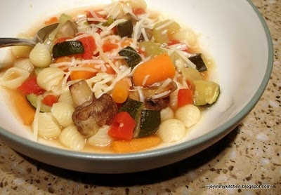 Roasted Vegetable Minestrone | Food--Soup & Sandwich | Pinterest
