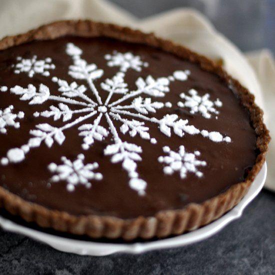 Raspberry Chocolate Tart | Tarts : Tartlets | Pinterest