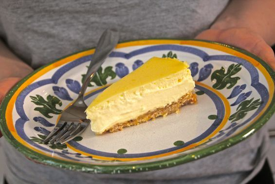 Chosen Eats: Eating Passover, Day 6 - Lemon Cheesecake