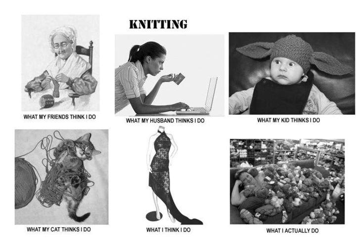 Funny Knitting Memes : Love this knitting humor pinterest
