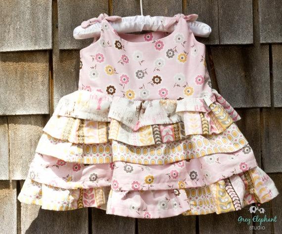 Daisy Cottage Ruffle Dress