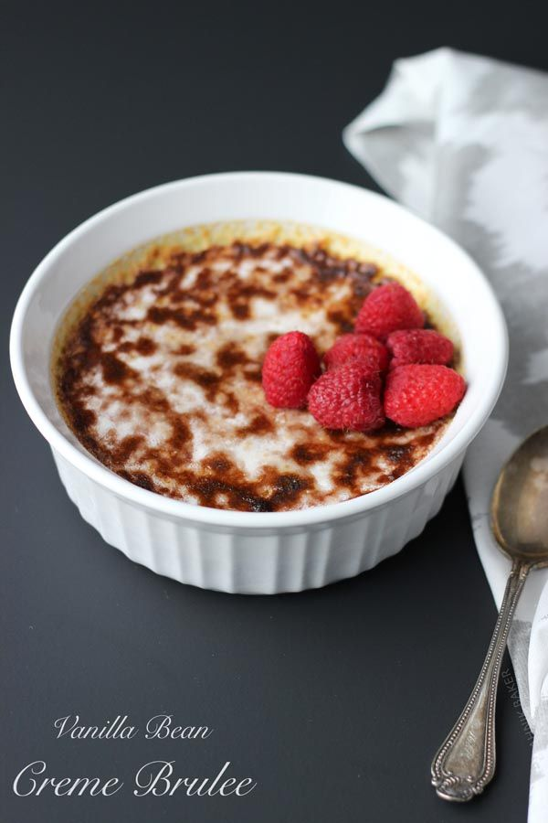Vanilla Bean Crème Brûlée | Recipe