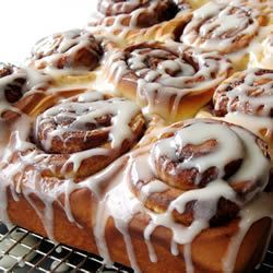 Clone of a Cinnabon | Party Food | Pinterest