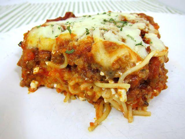 Spaghetti Casserole | Plain Chicken | Pasta,rice & bean dishes | Pint ...