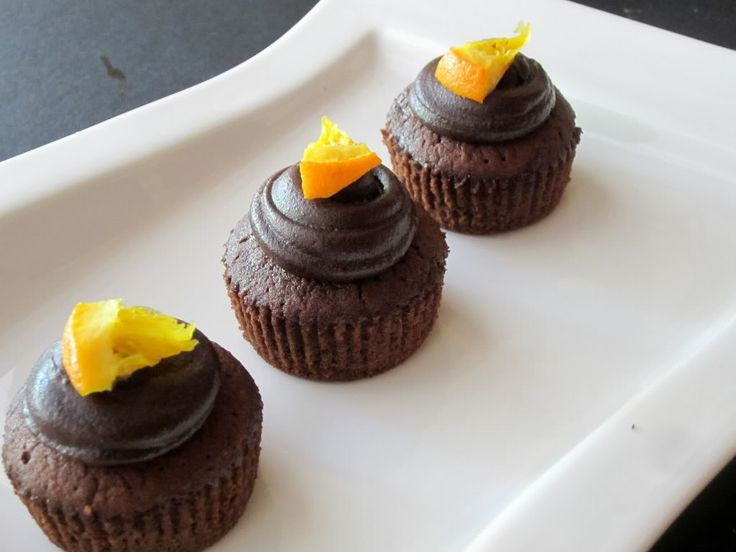 Rich Chocolate Orange Cupcakes | (Cupcake + Frosting) recipes | Pinte ...