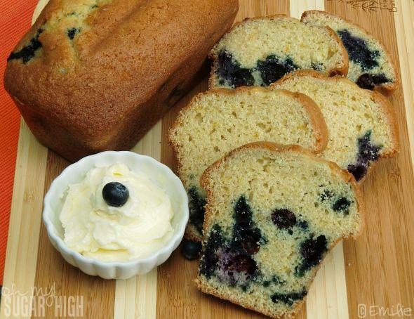 Flavorful Blueberry Orange Bread | Desserts | Pinterest