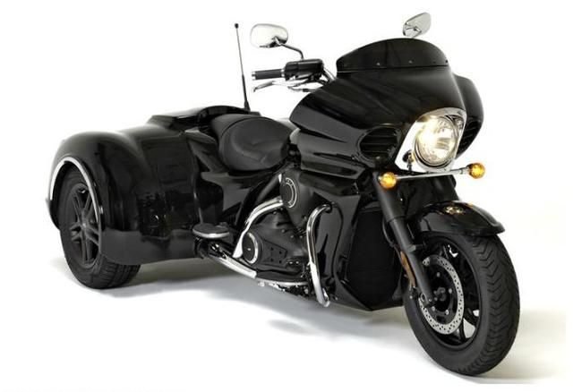 California Sidecar Trike Kit Kawasaki