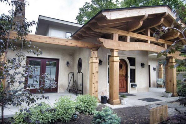 Pin by bevviej on straw bale homes pinterest - Straw bale house ...