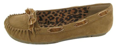 Jellypop Toycar Womens Moccasins Shoes Camel Suedelike 7 Jellypop