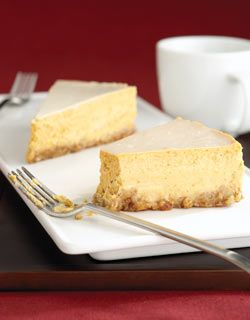 Pumpkin Bourbon Cheesecake | Pumpkins | Pinterest