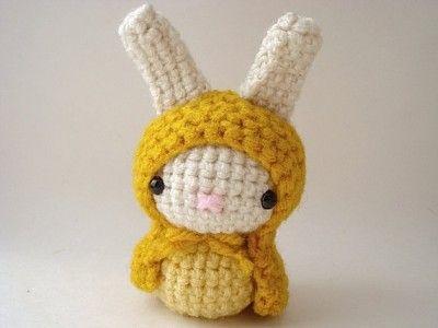 super cute amigurumi bunny Crochet Pinterest