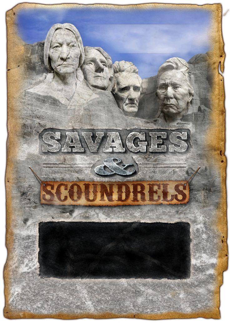 Savages & Scoundrels Site Design