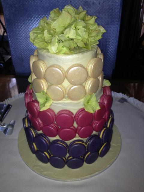 macaron cake! | MACARONS | Pinterest