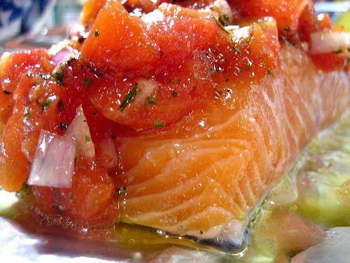 ... roasted tomatoes and lemon lemon oregano salmon with roasted tomatoes