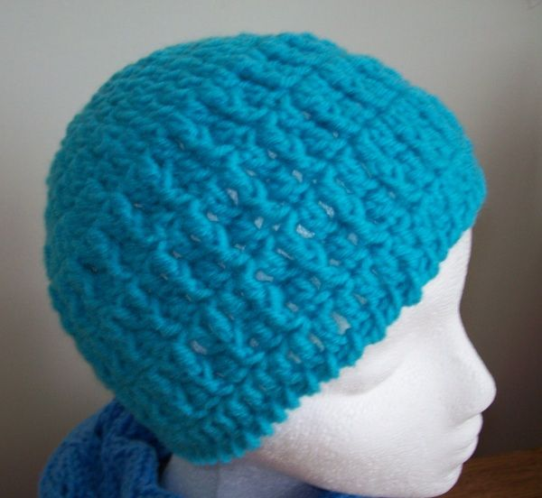 Quick Crochet : Quick Crochet Hat. Crochet/Knitting Pinterest