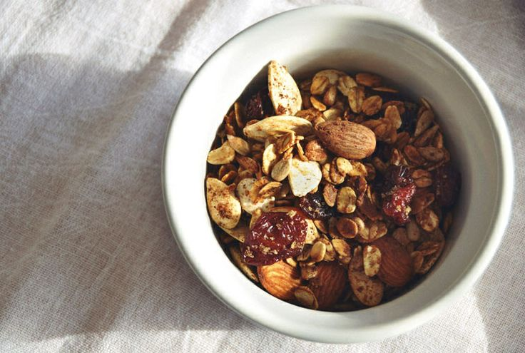 Cherry Almond Granola | Everyday Breakfast | Pinterest
