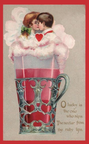 free vintage valentines day cards