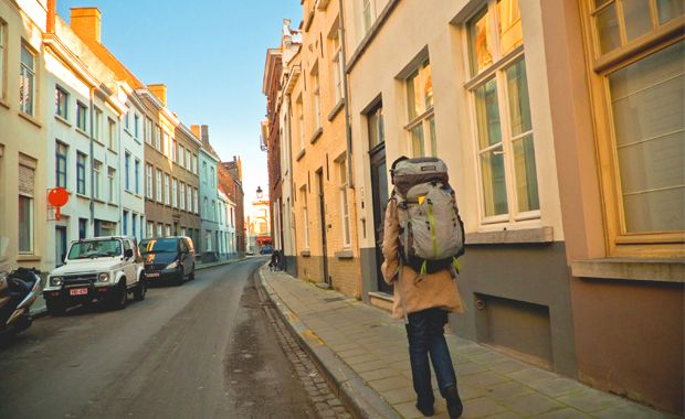 Backpack Europe without a plan
