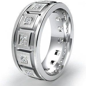 Luxury Men's Wedding Band