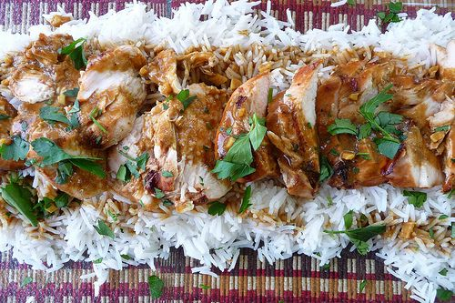 Grilled Chicken with Soy-Curry Sauce | Food - OMG! I Love Food | Pint ...
