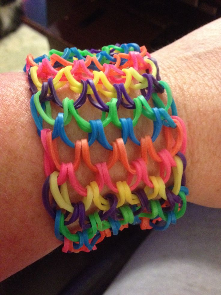 Dragonscale Rainbow Loom