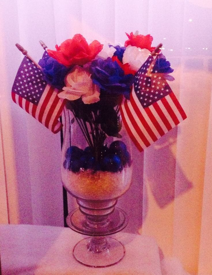 memorial day paper decorations