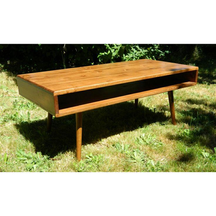 Bauhaus Pine Coffee Table