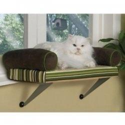 Cat window seat Kitty Love
