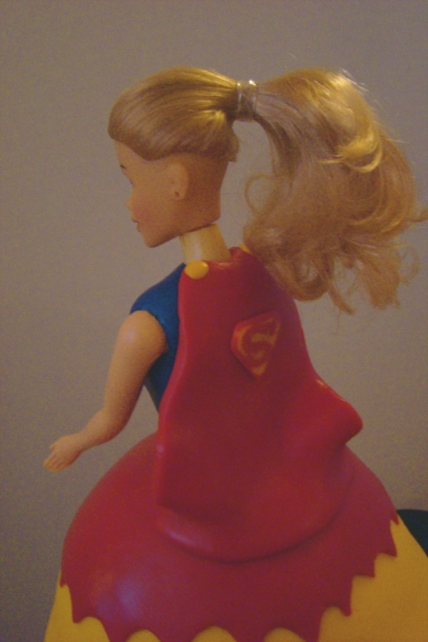 Super Girl Cake Ideas 7271 Supergirl Cake Birthday Party I