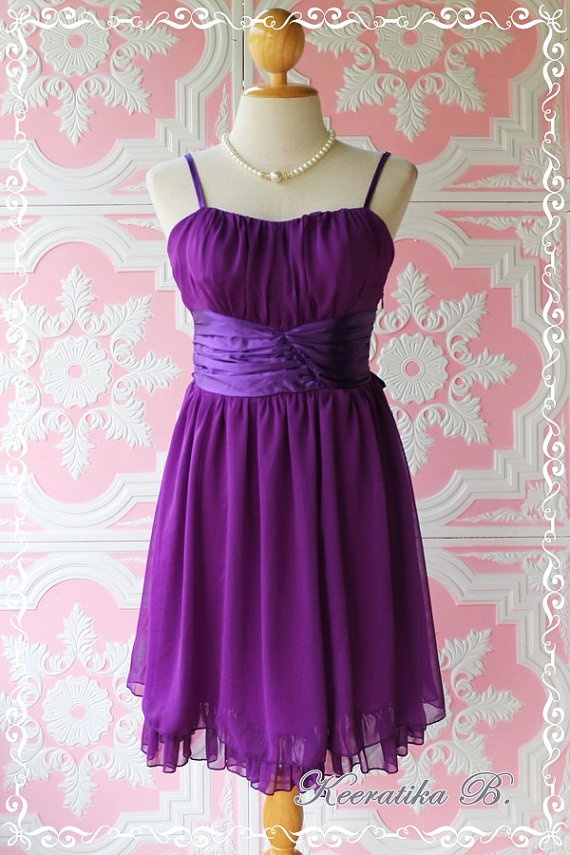 Purple Dress by LovelyMelodyClothing, $45.30