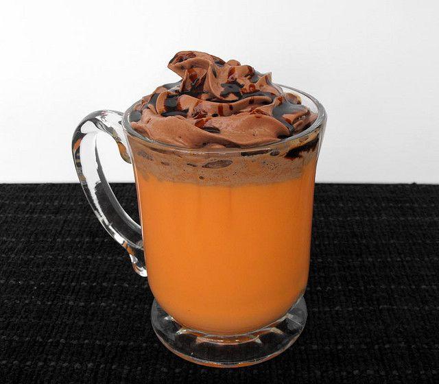 orange hot chocolate | Food - Baking and Desserts | Pinterest