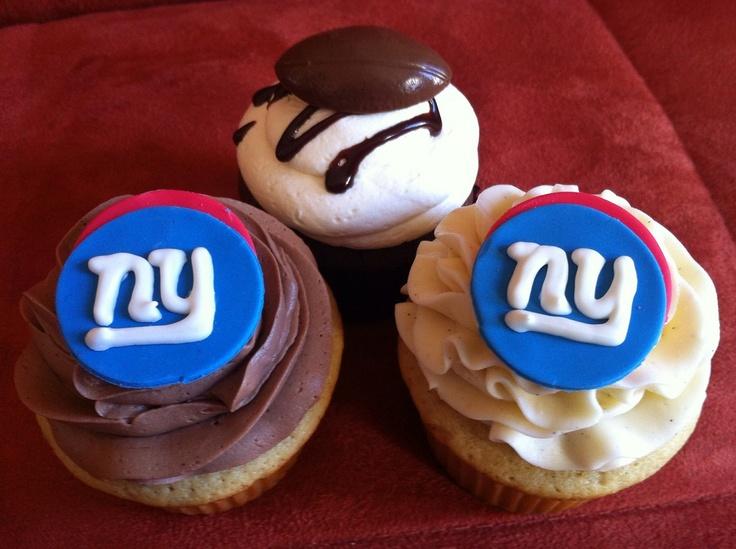 Giants cupcakes!