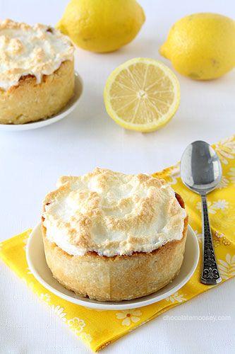 Mini-Deep-Dish-Lemon-Meringue-Pie | Luscious Lemon Sweet | Pinterest